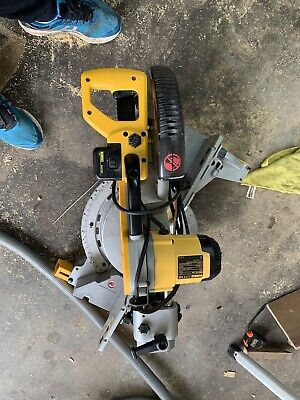 £750 • Buy Combo Dewalt  Dw718 Mitre + Dw745 Table Saws With Stands. 240V