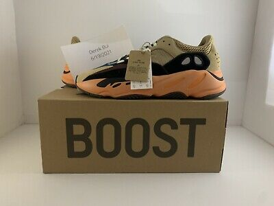 $ CDN404.64 • Buy NEW Adidas Yeezy Boost 700 Enflame Amber GW0297 Men's Size 9.5 READY TO SHIP