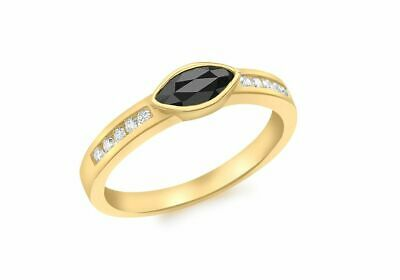 AU426.03 • Buy 9ct Yellow Gold Sapphire And Diamond Ring