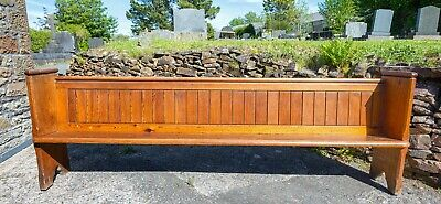£150 • Buy Long Pine Church Pew - Victorian (1888). Bench Style. Used.