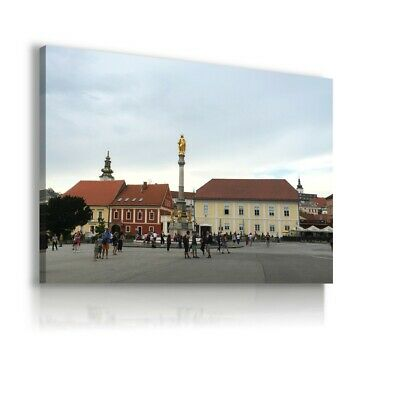 £44.99 • Buy Cathedral In Zagreb City, Croatia CANVAS WALL ART PICTURE C19 MATAGA