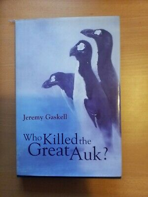 £8.99 • Buy Who Killed The Great Auk - Gaskell 1st