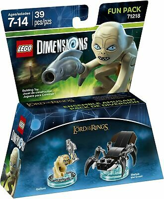 £14 • Buy LEGO Dimensions Lord Of The Rings Gollum Shelob Fun Pack 71218 - New And Sealed