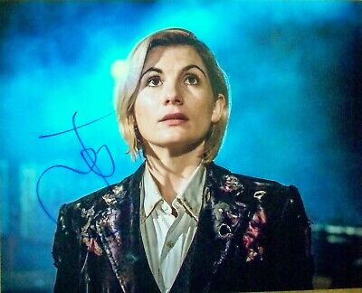 £49.99 • Buy JODIE WHITTAKER: 13th And Current DR WHO. Hand Signed Photo. COA. Broadchurch.