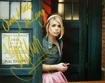 £29.99 • Buy BILLIE PIPER: DR WHO As Rose Tyler. Hand Signed Photo. COA. Yerma. I Hate Suzie