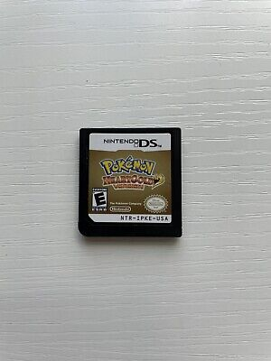 $130 • Buy Pokemon: HeartGold Version (DS, 2010) Cartridge Only, Authentic, -Tested-