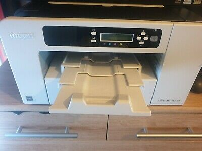£55 • Buy Richo Africo Sg 3110dn Printer For Sublimation With Extra Ink