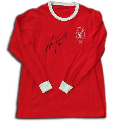 £38 • Buy Signed Liverpool Shirt 1965 FA Cup Final Captain Ron Yeats Shankly Legend