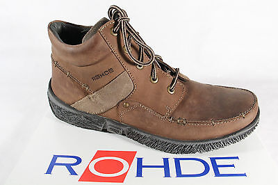 £73.34 • Buy Rohde Boots To, Braun, Boots Real Leather, New