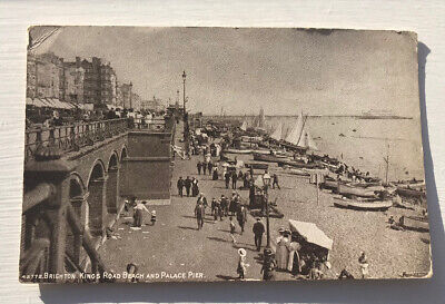 £3.50 • Buy Brighton Kings Road Beach  And Palace Pier Sussex Post Card