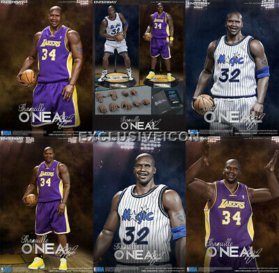 """$799.99 • Buy Hot! Enterbay Toys Real Masterpiece NBA 1/6 RM-1063 Shaquille O'Neal """"Duo Pack"""""""