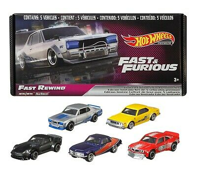 AU45 • Buy Hot Wheels Factory Sealed NEW Fast And Furious  FAST REWIND   5 Car Boxed Set
