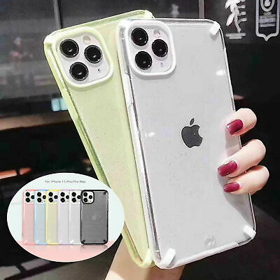 AU15.98 • Buy For IPhone 11 Pro XS Max XR X 7 8+ Bling Glitter Soft Clear Girl Back Case Cover