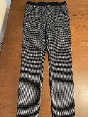 AU14.50 • Buy Forever New Black Check Pants Size 6