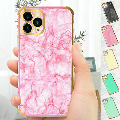 AU17.58 • Buy For IPhone 12 Pro Max 11 7 8+ XR XS Soft Marble Case Silicone Back Phone Cover