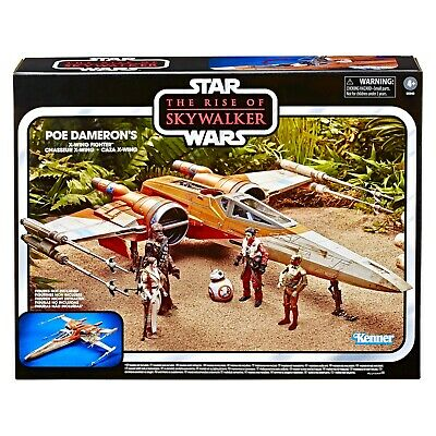 $ CDN137.93 • Buy Star Wars Vintage Collection Rise Of Skywalker Poe Dameron's X-Wing Fighter Toys