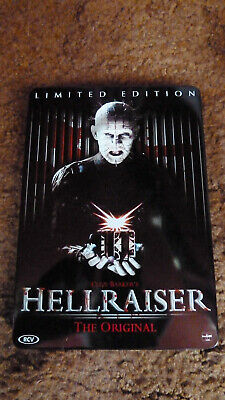 £3.99 • Buy Hellraiser The Original -  Rare Out Of Print Dutch Limited Edition Dvd Steelbook