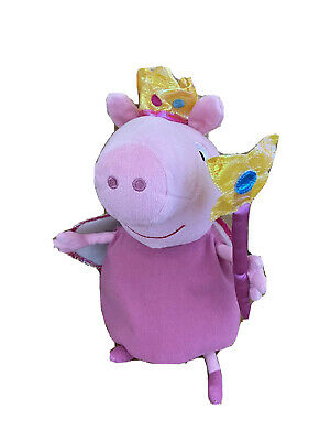 £4.99 • Buy Ty Fairy Princess Peppa Pig Soft Toy Plush Excellent Condition 30cm