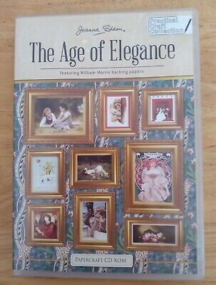 £3.25 • Buy Joanna Sheen 'Age Of Elegance' Papercrafting CD