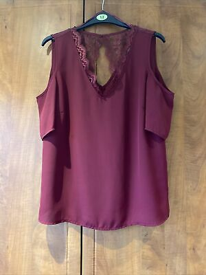 £2.75 • Buy Womens Shoulder Cut Out Top Size 10