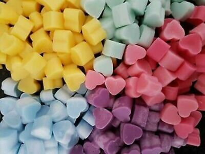 £8.99 • Buy 10 / 25 / 50 / 100 Highly Scented Miniature Wax Heart Melts - Free P&p