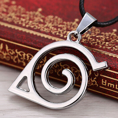 £5.39 • Buy Anime Naruto: Leaf Symbol Necklace Cosplay Costume Accessory Toy Practical##bx