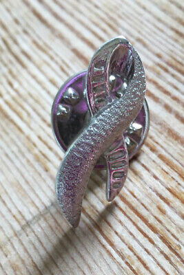 £3.20 • Buy Ballou Breast Cancer Pin Brooch