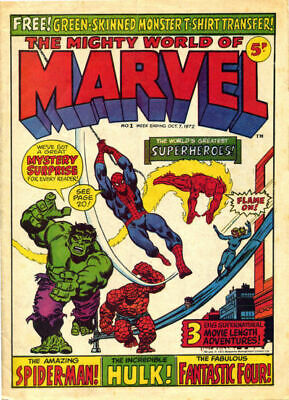 £6.99 • Buy 20 X MARVEL Weekly Comic Bags And Boards CRYSTAL CLEAR