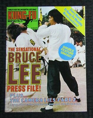 £14.67 • Buy 1970's KUNG-FU MONTHLY Poster Magazine #18 FVF 7.0 The Sensational Bruce Lee