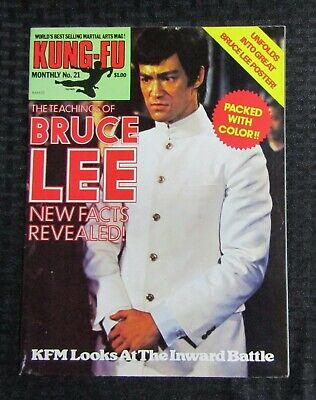 £14.67 • Buy 1970's KUNG-FU MONTHLY Poster Magazine #21 FVF 7.0 Bruce Lee The Teachings Of