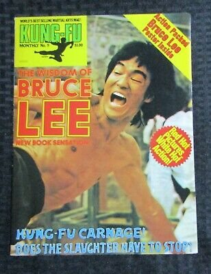 £14.67 • Buy 1970's KUNG-FU MONTHLY Poster Magazine #9 FVF 7.0 Bruce Lee The Wisdom Of