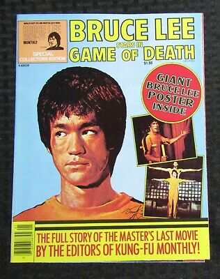£18.29 • Buy 1970's KUNG-FU MONTHLY Poster Magazine #nn FVF 7.0 Bruce Lee Game Of Death