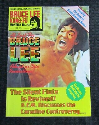 £14.67 • Buy 1970's KUNG-FU MONTHLY Poster Magazine #23 FVF 7.0 Bruce Lee Adapt Or Die