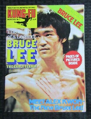£14.67 • Buy 1970's KUNG-FU MONTHLY Poster Magazine #7 FVF 7.0 Bruce Lee The Early Years