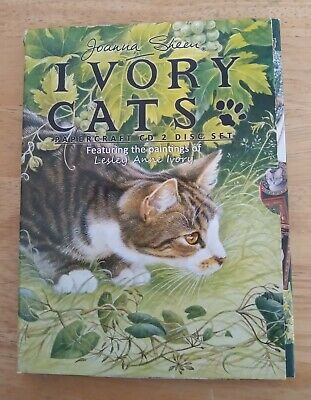 £3.99 • Buy Joanna Sheen 'Ivory Cats' Papercrafting CD