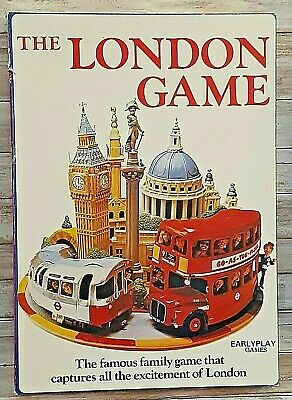 £6.80 • Buy The London Game - 1972 British Board Game - London Underground - Ages 7+