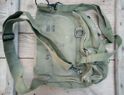 $7.98 • Buy Authentic Vietnam M17 Gas Mask Respirator Waist Bag Pouch Tunnel Rats