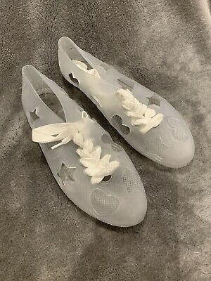 £4.99 • Buy F-troupe Clear Beach Shoe Size 5.