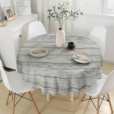 AU21.41 • Buy Round Tablecloth Shrinkoproof Dining Table Table Cloth Restaurant Cover