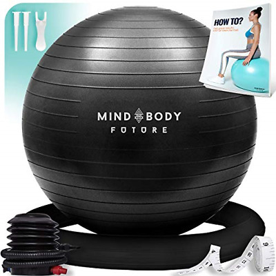 £35.57 • Buy Yoga Ball Chair - Exercise Ball & Stability Ring. For Pregnancy, Balance, Or Use