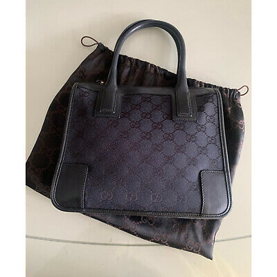 AU340 • Buy Authentic Gucci Black ABBEY Small Tote Bags Women Bags