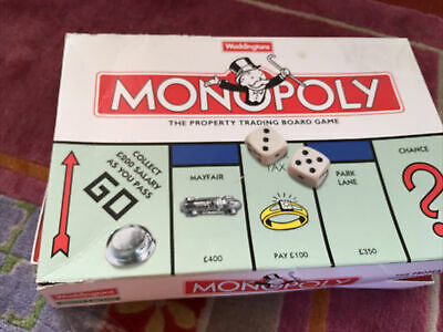 £9.99 • Buy Monopoly Board Game Classic 1996 Edition By Waddingtons Used 100% Complete Used