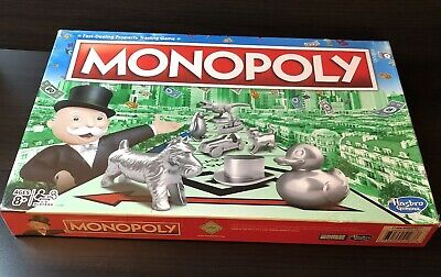 £16.43 • Buy NEW Hasbro Monopoly Classic Board Game One Size Multi