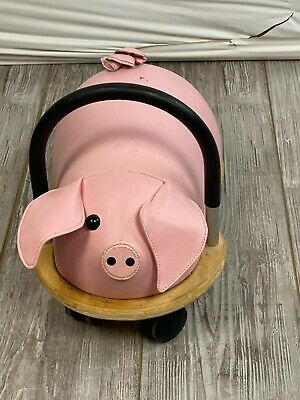 £20.13 • Buy The Original Wheely Bug By Prince Lionheart Pig Pink Child's Soft Ride On Toy