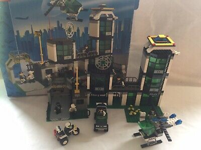 £35 • Buy Lego 6332 Lego Command Post Central Boxed Instructions Police Station Multi Set