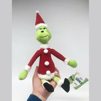 £4.74 • Buy 12  How The Grinch Stole Christmas Xmas Grinch Soft Plush Doll Kids Toy Gift UK