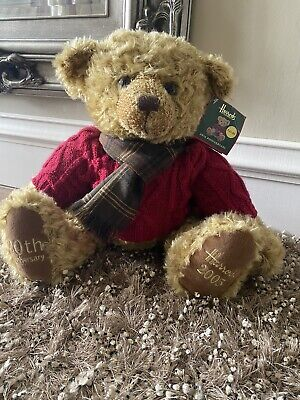 £12 • Buy Harrods Bear 2005 With Tag Lsrge