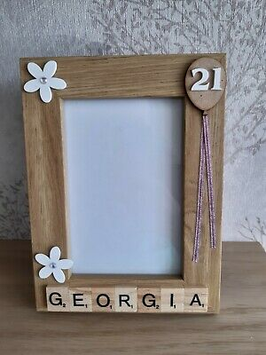 £7.95 • Buy 13th, 18th, 21st, 30th, 40th, 50th, 60th Photo Frame (Any Age)