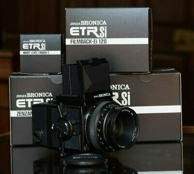 £600 • Buy Zenza Bronica ETRSi Outfit Medium Format Film Camera Boxed