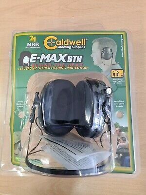 £49 • Buy Caldwell E-max Bth Shooters Electronic Behind The Head Ear Defenders Green